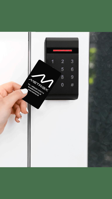 Metriax MDE 960 RFID Leser-analog Quio QDE 960-RFID Zutrittskontrolle-Kundenkarte-Freischaltung