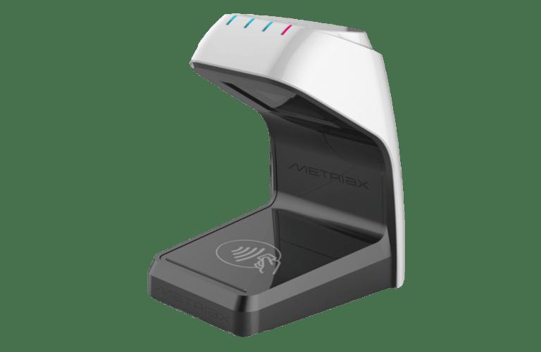 Metriax GmbH-RFID-NFC-QR Code Leser-Barcode Lesegerät-Hybridleser