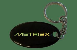 Metriax-Epoxy-RFID-NFC-Keyfob-Oval-Schlüsselanhänger