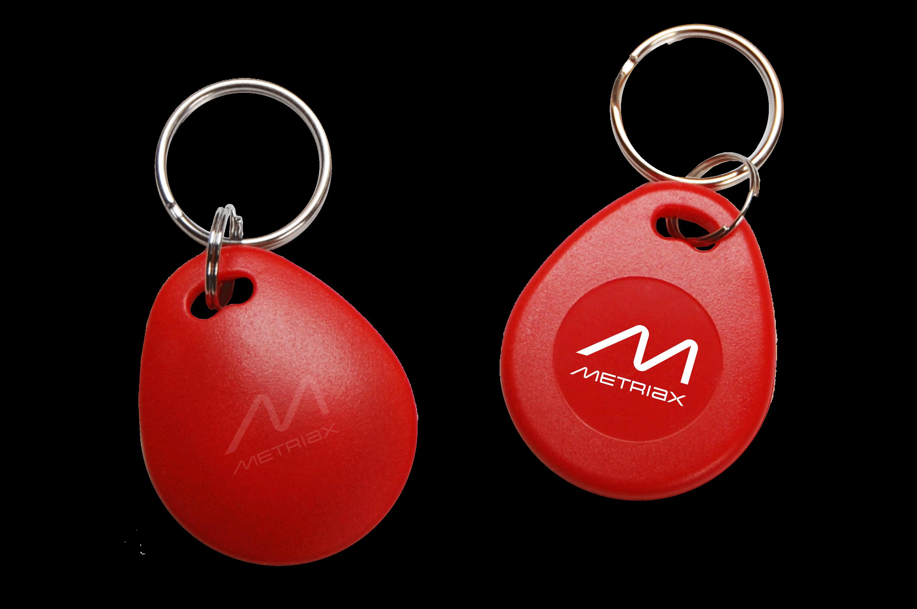 Metriax-RFID-NFC-Keyfob-rot
