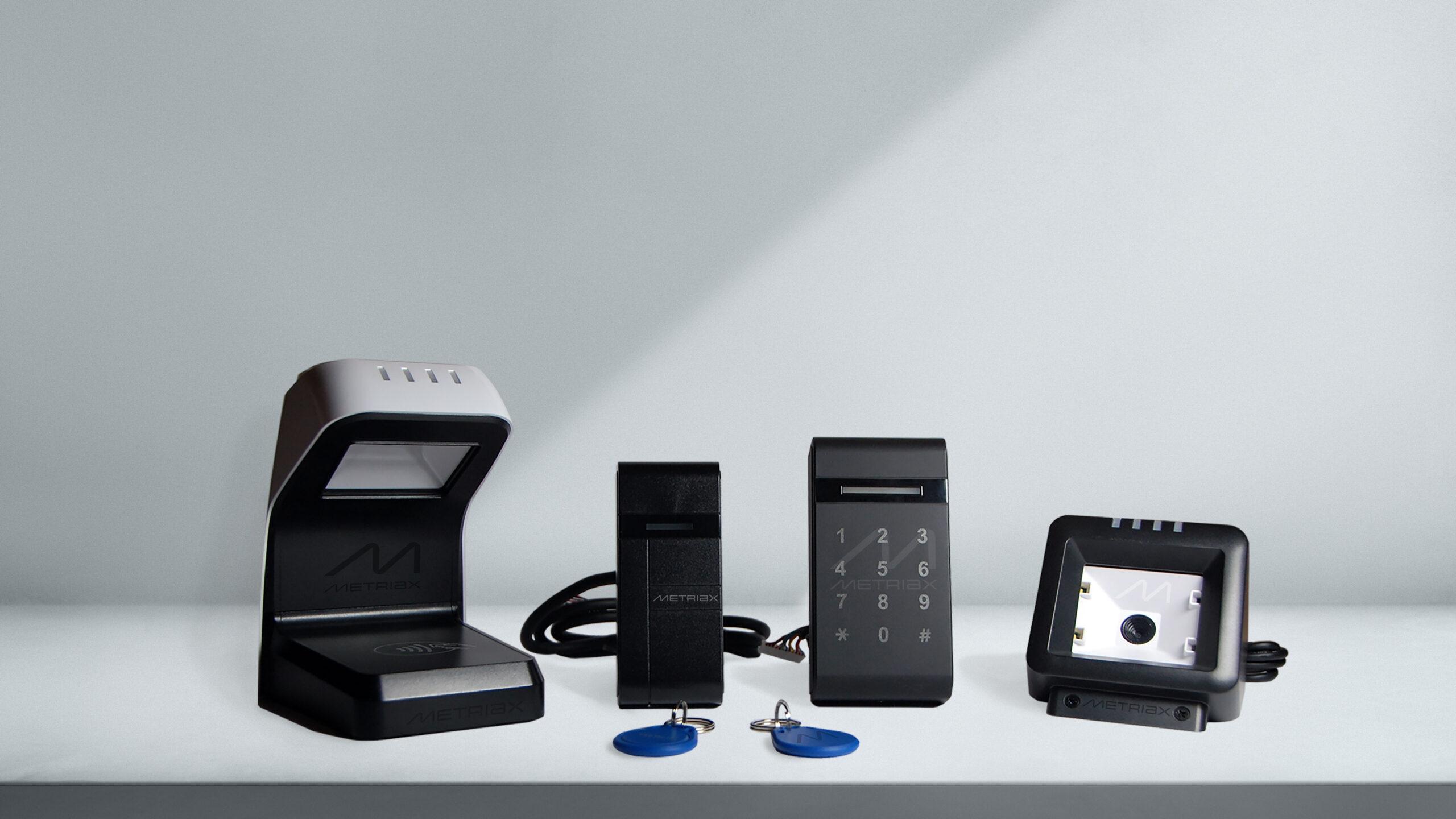 Metriax-RFID Leser-NFC Lesegerät-RFID Keyfob-QR code RFID Lesegerät