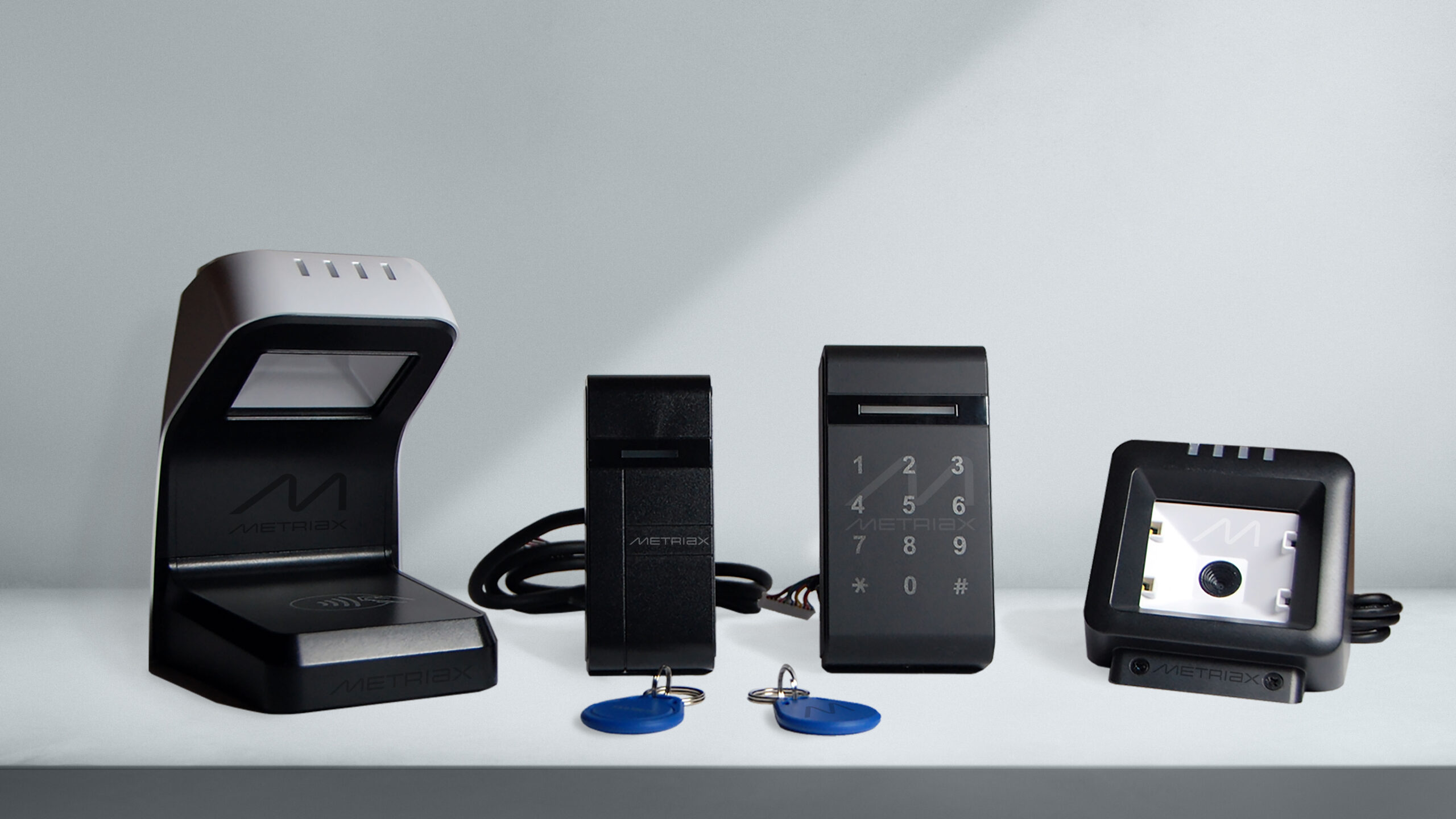 Metriax- RFID Lesegeräte-RFID NFC Serie-QR Code Leser-Keyfobs-Karten