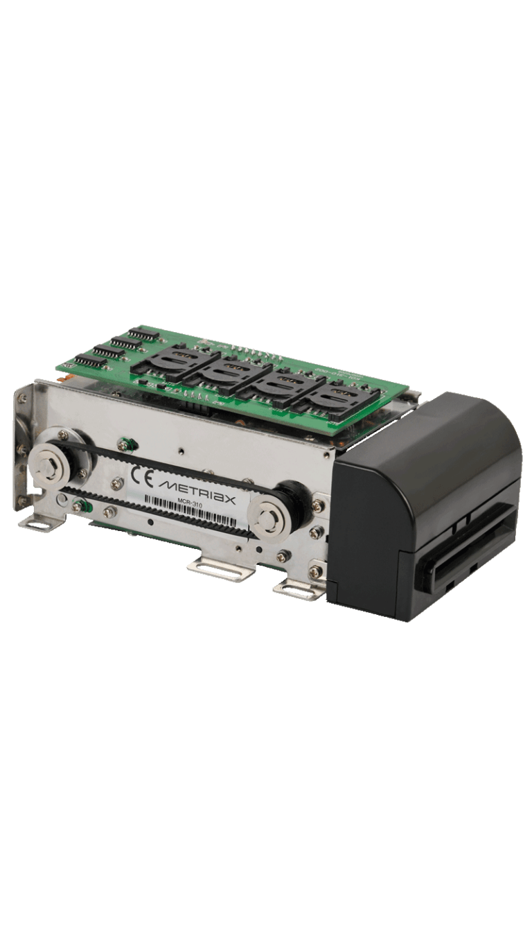 MCR 310-Motorkartenleser-RFID-NFC-analog QCR 310-Chipkarten-RFIDkarten-Motorisierter Kartenleser