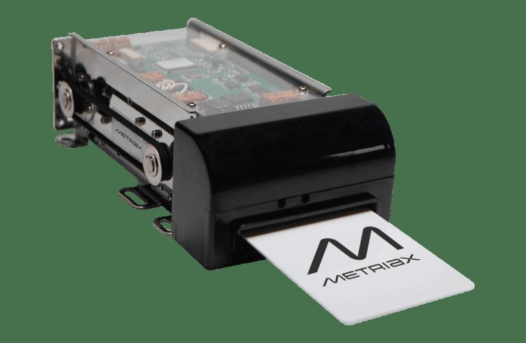 Metriax-MCR 310-Motorkartenleser-RFID-NFC-analog QCR 310-Chipkarten-RFID Karten-Motorisierter Kartenleser-Magnetkarten-Shutter