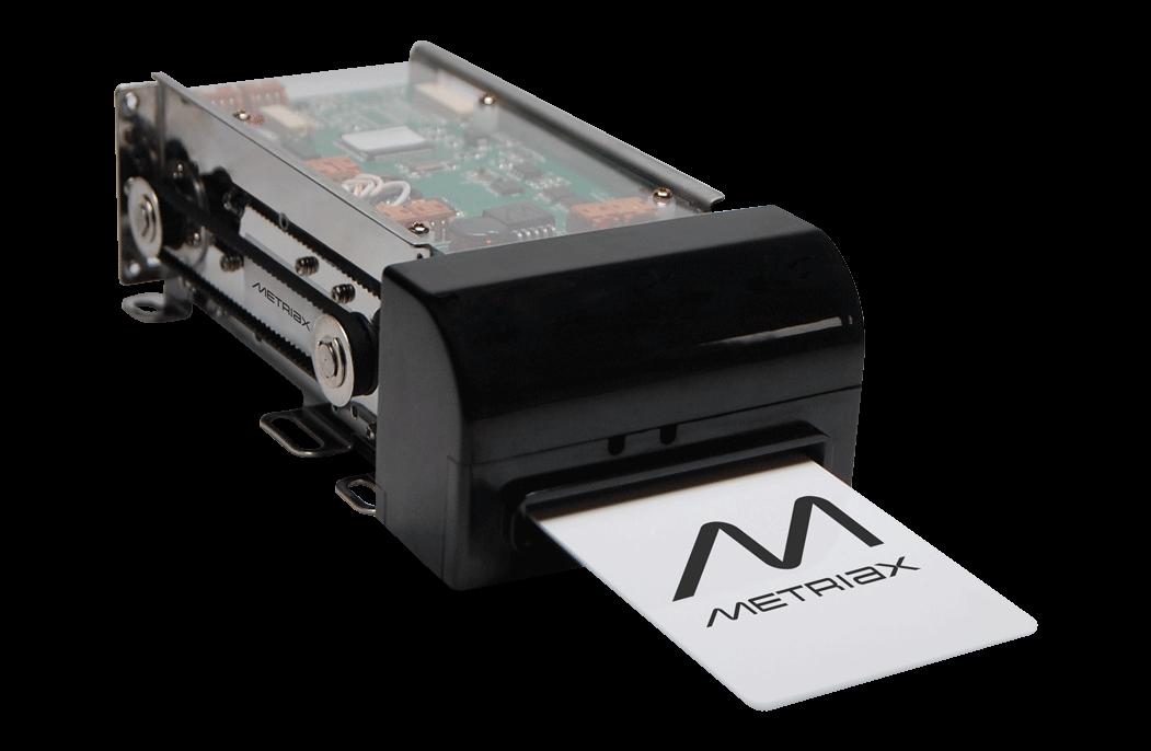 Metriax-MCR-310-motorized card reader-RFID-NFC-Card-Shutter