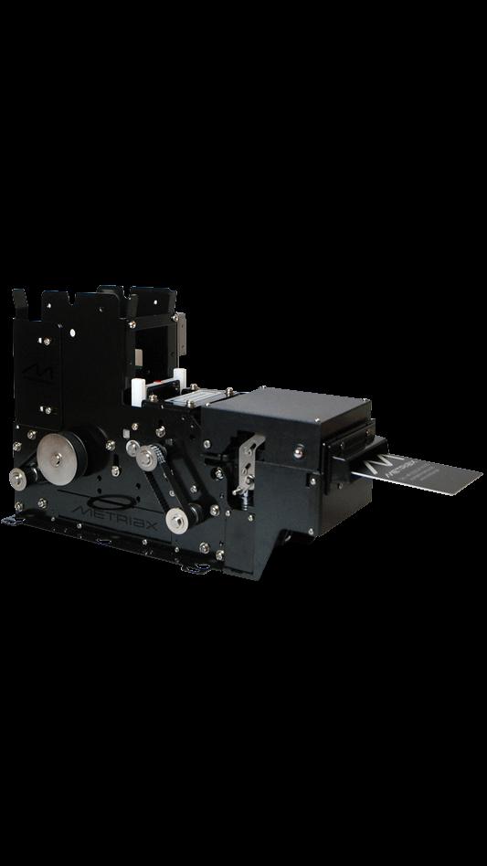 Metriax-MCR 571-Motorkartenleser-Kartenspender-analog QCR 571-motorisierter Kartenspender-RFID-Chipkarten-ISO-CE zertifiziert