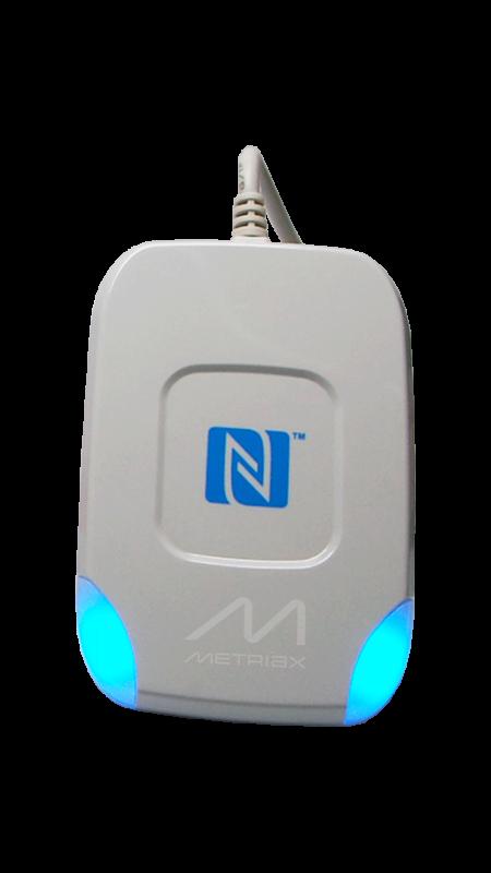 Metriax-MDE Dragon-USB-RFID-NFC-Tischleser-Desktopleser-ISO 14443-13,56 MHz